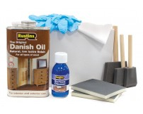 Rustins Worktop Maintenance/Finishing Kit